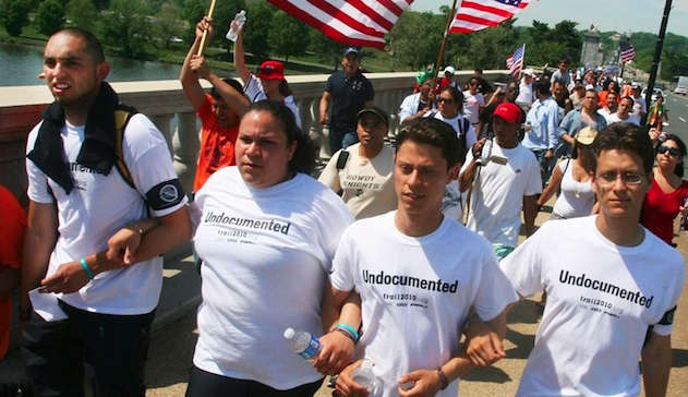 Immigrant Rights Protest