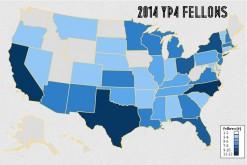 2014 Fellows Map