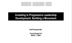 Cover: Investing in Youth