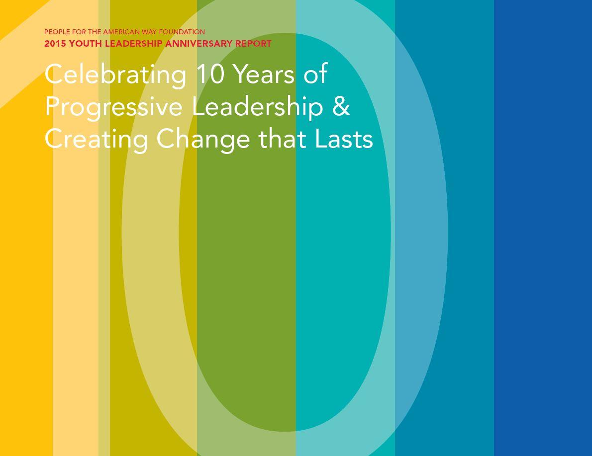 Anniversary Report cover